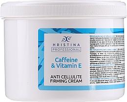Kup Antycellulitowy krem z kofeiną i witaminą E. - Hristina Professional Anti Cellulite Firming Cream Caffeine & Vitamin E