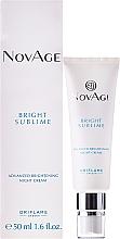Kup PRZECENA! Rozjaśniający krem do twarzy na noc - Oriflame NovAge Bright Sublime Advanced Brightening Night Cream