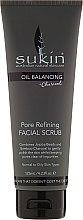 Kup Peeling do twarzy - Sukin Oil Balancing Plus Charcoal Pore Refining Facial Scrub