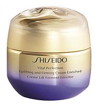Kup Liftingujący i ujędrniający krem do twarzy na dzień i na noc - Shiseido Vital Perfection Uplifting & Firming Cream Enriched