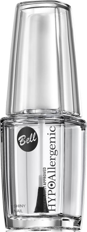 Hipoalergiczny preparat nabłyszczający lakier do paznokci - Bell Hypoallergenic Shiny Nail — фото N2