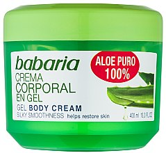 Kup Naturalny żel do regeneracji ciała - Babaria Aloe Vera