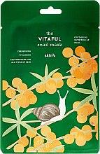 Kup Energizująca maska w płachcie Odświeżenie i witalność - Skin79 The Vitaful Snail Mask