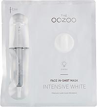 Kup PRZECENA! Maska na twarz w płachcie - The Oozoo Face In-Shot Mask Intensive White *