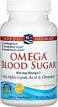 Kup Suplement diety Prawidłowy poziom cukrów z Omega-3, 896 mg - Nordic Naturals Omega Blood Sugar