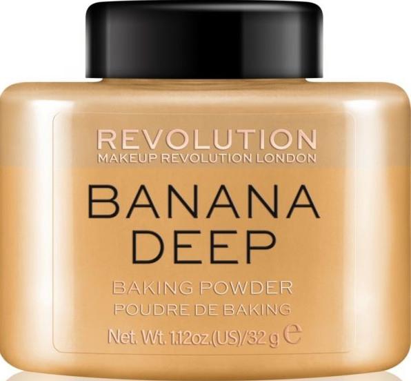 Sypki puder bananowy do twarzy - Makeup Revolution Banana Deep Baking Powder — фото N1