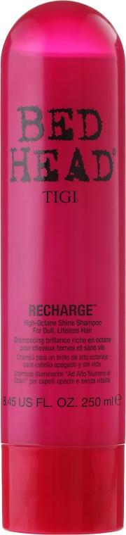 Nabłyszczający szampon do włosów - TIGI Bed Head Recharge High-Octane Shine Shampoo — фото N1