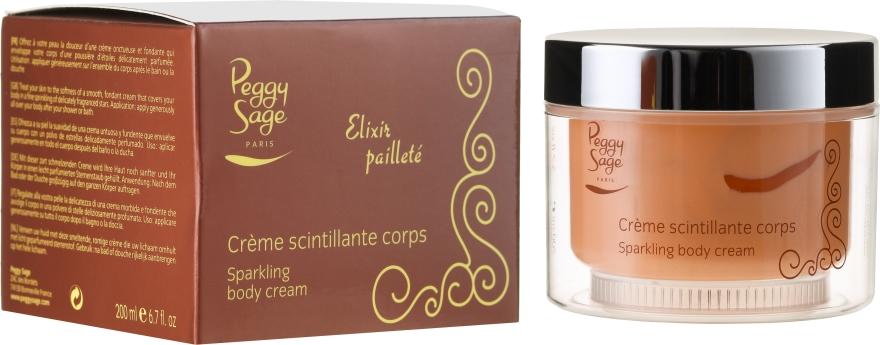 Rozświetlający krem do ciała - Peggy Sage Sparkling Body Cream