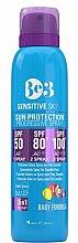 Kup Przeciwsłoneczny spray z postępującym SPF do skóry wrażliwej - Be3 Sun Protection Progressive Spray