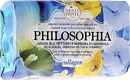 Kup Naturalne mydło w kostce Niebieska azalia, ambrozja i karambola - Nesti Dante Philosophia Collagen