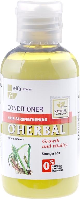 Odżywka wzmacniająca włosy z ekstraktem z korzenia tataraku - O'Herbal