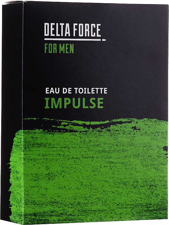 Pharma CF Delta Force For Men Impulse - Woda toaletowa — фото N1