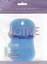 Kup Peelingująca gąbka do kąpieli Niebieska - Suavipiel Active Esponja Peeling