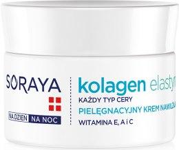 Kup Pielęgnacyjny krem nawilżający - Soraya Kolagen i Elastyna Moisturizing Cream