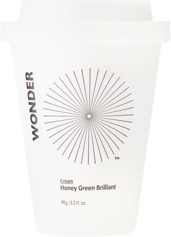 Rozjaśniający krem do twarzy - Haruharu Wonder Honey Green Brilliant Cream — фото N2