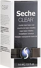 Kup Przezroczysty lakier podkładowy do paznokci - Seche Vite Clear Crystal Base Coat