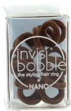 Gumka do włosów - Invisibobble Nano Pretzel Brown — фото N2