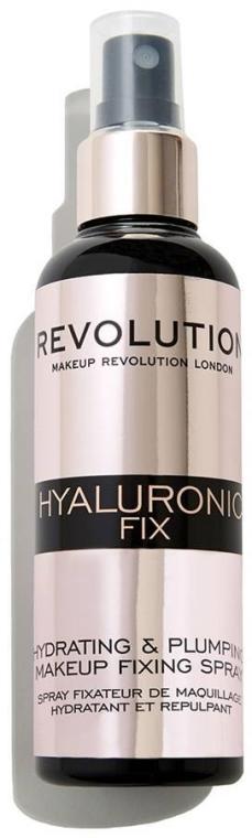 Spray utrwalający makijaż - Makeup Revolution Hyaluronic Fix Spray