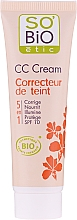 Kup Krem CC do twarzy, 5 w 1 SPF 10 - So'Bio Etic CC Cream