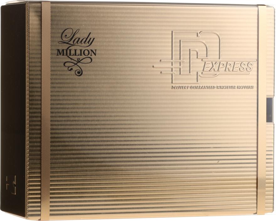 Paco Rabanne Lady Million - Zestaw perfumowany (edp/80ml + b/lot/100ml)