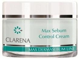 Kup Normalizujący krem do twarzy - Clarena Bio Dermasebum Line Max Sebum Control Cream