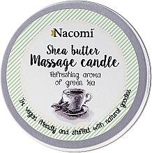 Kup Świeca do masażu z masłem shea Zielona herbata - Nacomi Shea Butter Massage Candle