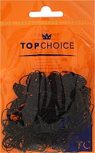 Kup Gumki do włosów 22722, czarne - Top Choice