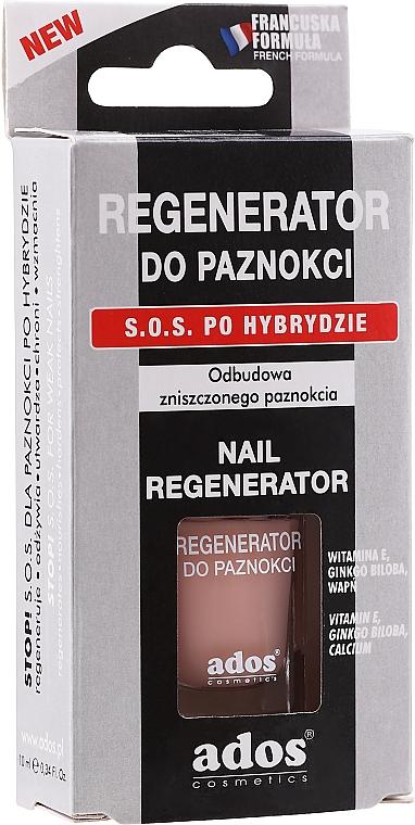 Odżywka do paznokci po hybrydzie - Ados Nail Conditioner Regenerator — фото N2