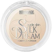 Kup Puder w kompakcie do twarzy - Luxvisage Silk Dream Nude Skin