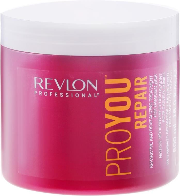 Maska regenerująca do włosów zniszczonych - Revlon Professional ProYou Repair Reparative And Revitalizing Treatment — фото N1
