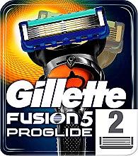 Kup Wymienne wkłady do maszynki do golenia, 2 szt. - Gillette Fusion ProGlide