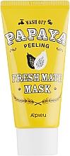 Kup Oczyszczająco-rozjaśniająca maska peelingująca do twarzy Papaja - A'pieu Fresh Mate Mask