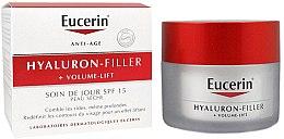 Kup Krem na dzień do skóry suchej - Eucerin Hyaluron-Filler+Volume-Lift Day Cream SPF15