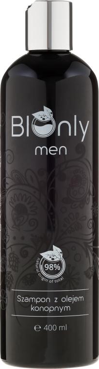 Szampon do włosów z olejem konopnym dla mężczyzn - BIOnly Men