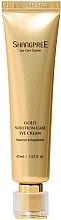 Kup Odżywczy krem nawilżający pod oczy - Shangpree Gold Solution Care Eye Cream