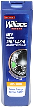 Kup Przeciwłupieżowy szampon do włosów - Williams Triple Action Anti-Dandruff Shampoo