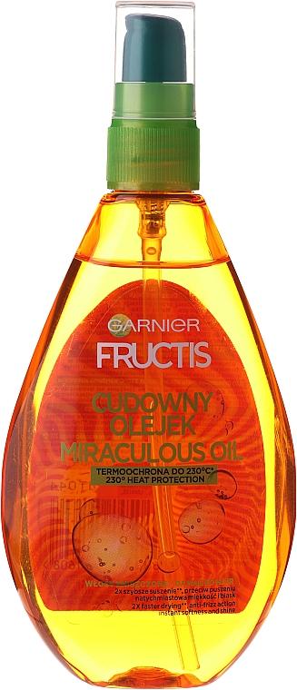 Cudowny olejek do włosów Ochrona do 230°C - Garnier Fructis