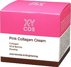 Kup Przeciwzmarszczkowy krem rozjaśniający do twarzy z kolagenem - XYcos Pink Collagen Cream