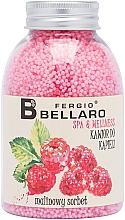 Kup Zmiękczający kawior do kąpieli Malinowy sorbet - Fergio Bellaro Raspberry Sorbet Bath Caviar