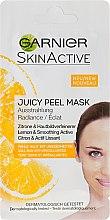 Kup Rozświetlająca maska do twarzy z cytryną - Garnier SkinActive Juicy Mask
