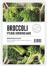 Kup Maseczka do twarzy z brokułami - Dermal It'S Real Superfood Mask Brocoli