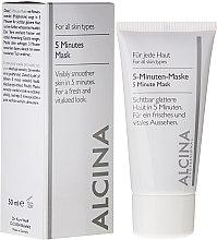 Kup 5-minutowa odświeżająca maska do twarzy - Alcina B 5 Minute Mask