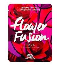 Kup Nawilżająca maska w płachcie z różą do twarzy - Origins Flower Fusion Rose Hydrating Sheet Mask