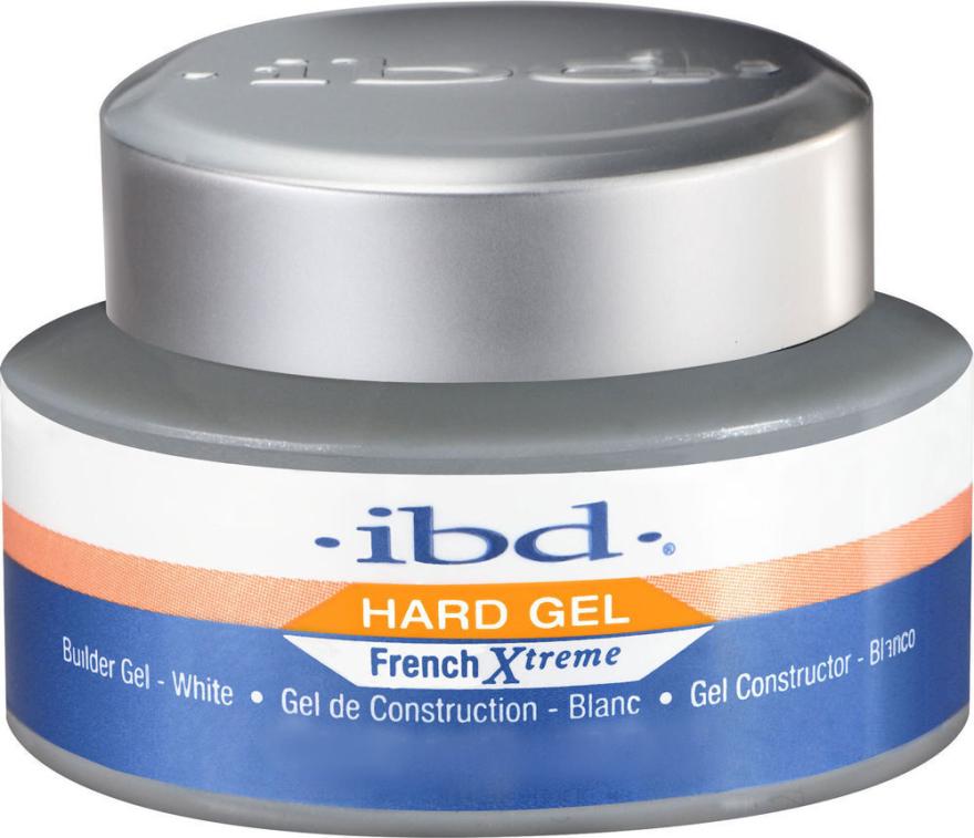 Biały żel budujący do paznokci - IBD French Xtreme Gel White — фото N1