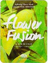 Kup Zmiękczająca maska w płachcie do twarzy z jaśminem - Origins Flower Fusion Jasmine Softening Sheet Mask
