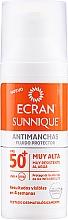 Kup Ochrona przeciwsłoneczna do twarzy z filtrem 50+ - Ecran Sunnique Antimanchas Facial SPF 50