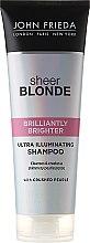 Kup Nabłyszczający szampon do włosów blond - John Frieda Sheer Blonde Brilliantly Brighter Shampoo