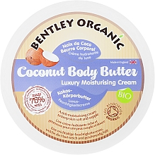 Kup Nawilżające Kokosowe masło do ciała Kokos - Bentley Organic Coconut Body Butter