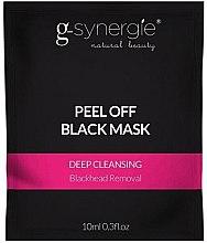 Kup Głęboko oczyszczająca maska peel-off do twarzy (saszetka) - G-Synergie Peel Off Deep Cleansing Black Mask
