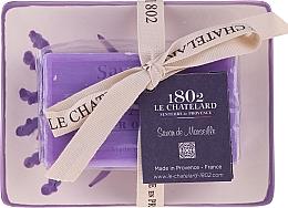 Kup PRZECENA! Mydło naturalne z ceramiczną mydelniczką - Le Chatelard 1802 Lavande Soap*